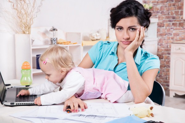 9 Ways To Avoid Losing Your Sanity While You Juggle Working At Home And Your Family