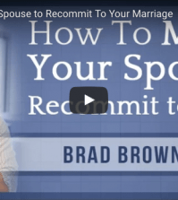 get husband to recommit to marriage