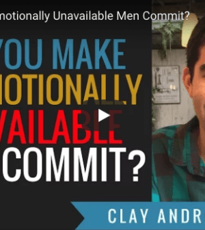 How To Get An Emotionally Unavailable Man To Commit