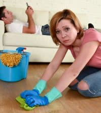 my husband expects me to do everything, my husband is lazy, how to get husband to do chores